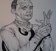 Frank Gorshin: The Riddler by TypH