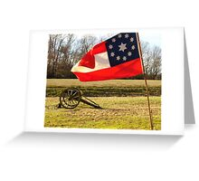 Civil War Re-Enactors Greeting Card