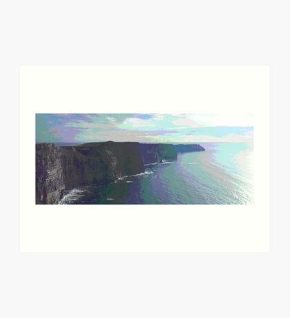Cliffs of Moher Poster Art Print