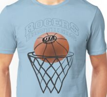 usa warriors basketball by rogers bros T-Shirt