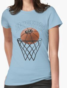 usa warriors basketball by rogers bros Womens Fitted T-Shirt