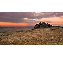 Dartmoor Sunset Photographic Print
