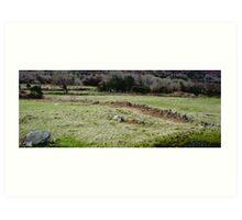 Burren Fields Art Print