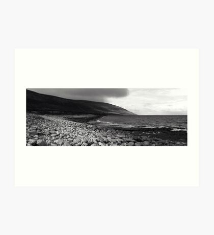 Burren Beach Tags Art Print