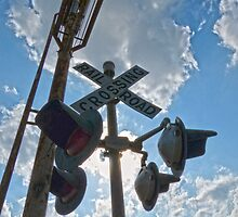 Railroad Crossing  by Susan S. Kline