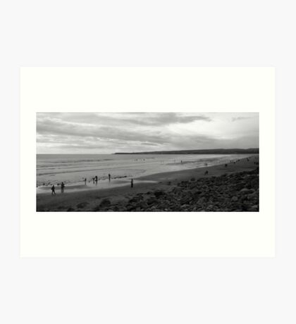 Fanore Beach Art Print
