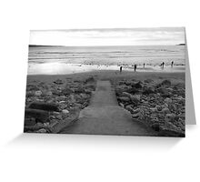 Leading to Fanore Beach Greeting Card