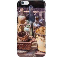 Old Bottles & Things iPhone Case/Skin