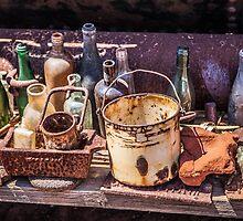 Old Bottles & Things by Ann Barnes