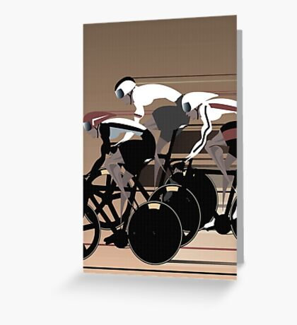 Velodrome Greeting Card