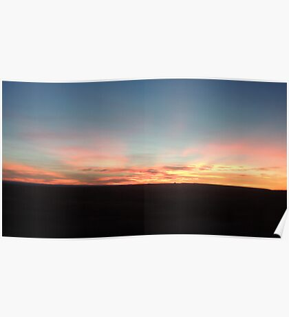 sunrise in Northern Arizona Poster