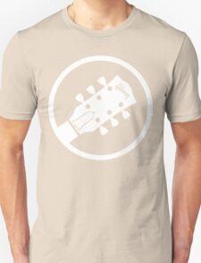 gibson  stylized headstock white Unisex T-Shirt