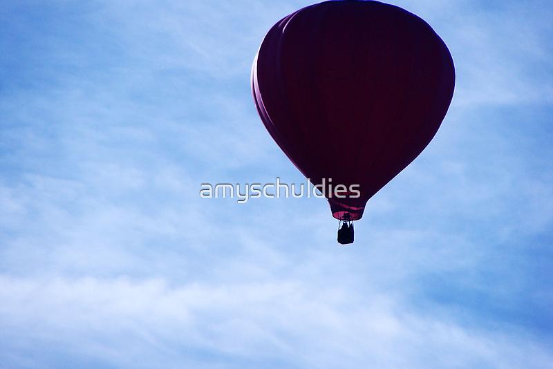 Hot Air Balloon by amyschuldies