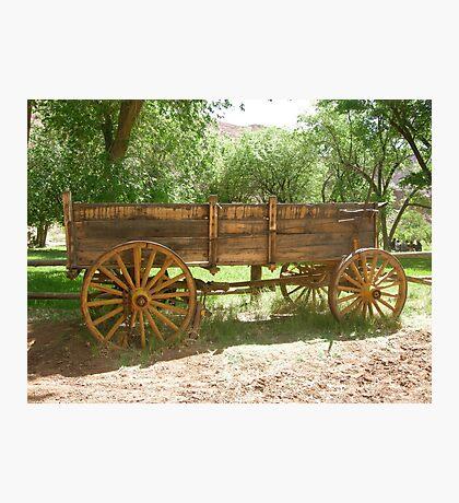 wagon Photographic Print