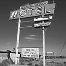 Route 66 - Bluewater Motel by Frank Romeo