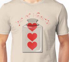 Jar of Hearts Unisex T-Shirt