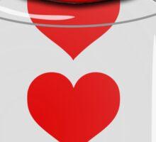 Jar of Hearts Sticker