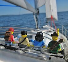 Sailing. by bricksailboat
