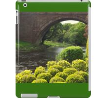 Bushes , Bridge and River iPad Case/Skin
