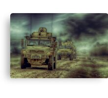 THE PATROL Canvas Print