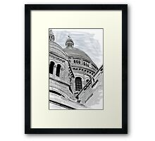 Sacre Coeur IV Pen and Ink Framed Print