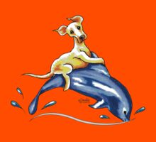 Yellow Lab Dolphin Ride Kids Clothes
