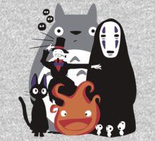 Ghibli'd Away Kids Clothes