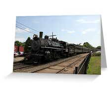 Essex Steam Train 2 Greeting Card