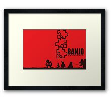 Banjo Unchained (Prints/Posters, and Shirt) Framed Print