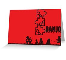 Banjo Unchained (Prints/Posters, and Shirt) Greeting Card