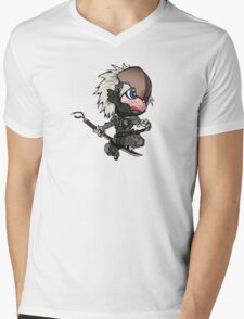 Chibi Raiden Mens V-Neck T-Shirt