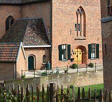 Castle, Huis Bergh, The Netherlands I by Richard Eijkenbroek