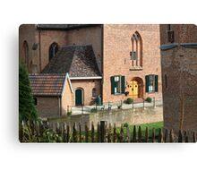 Castle, Huis Bergh, The Netherlands I Canvas Print