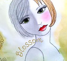 Blossom iPhone Case by Cia Williford