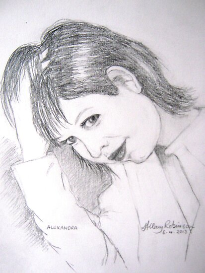 Alexandra Felgate by Hilary Robinson