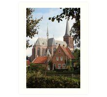 Castle, Huis Bergh, The Netherlands II Art Print