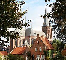 Castle, Huis Bergh, The Netherlands III by Richard Eijkenbroek