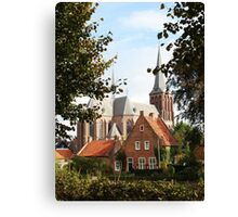 Castle, Huis Bergh, The Netherlands III Canvas Print