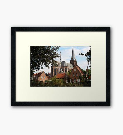 Castle, Huis Bergh, The Netherlands V Framed Print
