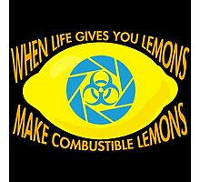 Combustible Lemons Photographic Print