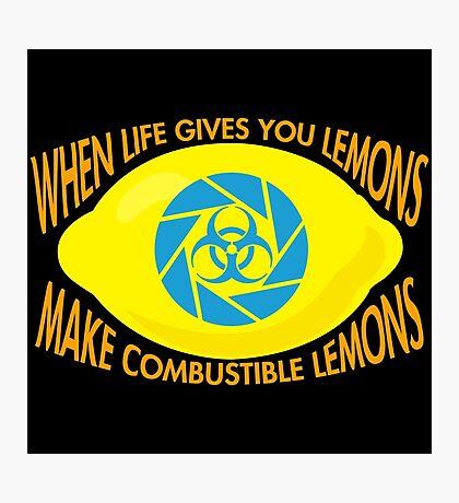 Combustible Lemons Photographic Print