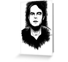 DARK COMEDIANS: Bill Hader Greeting Card