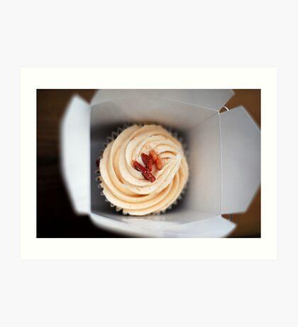 Bacon Cupcake Art Print