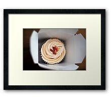 Bacon Cupcake Framed Print