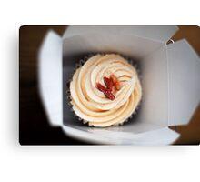 Bacon Cupcake Canvas Print