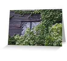Ivy Window Greeting Card