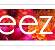 Floral Weezer Sticker
