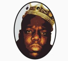 Notorious B.I.G T Shirt by crookiid