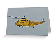 RAF Sea King HAR3A Greeting Card