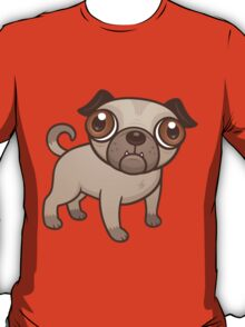 Pug Puppy Cartoon T-Shirt